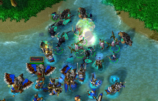Image result for warcraft iii human armies
